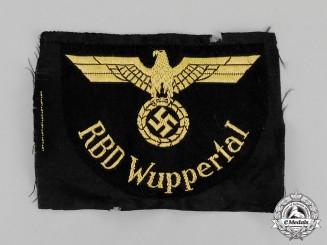 Germany. A Mint Reichsbahn RBD Wuppertal Sleeve Eagle