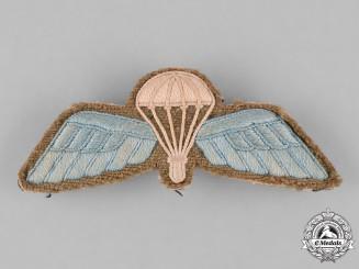United Kingdom. A Second War Royal Air Force (RAF) Paratrooper Wings