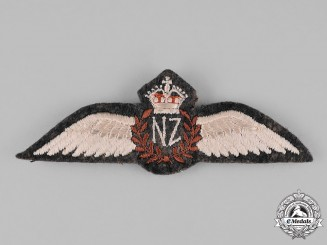 New Zealand. A Royal New Zealand Air Force (RNZAF) Pilot Wings, c.1941