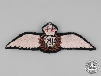 Canada. A Royal Canadian Air Force (RCAF) Pilot Wings c. 1941