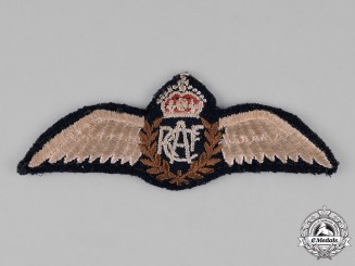 Canada. A Royal Canadian Air Force (RCAF) Pilot Wings
