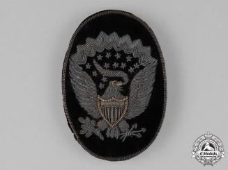 United States. A Civil War  Union Army Hardy Hat Badge, c.1860