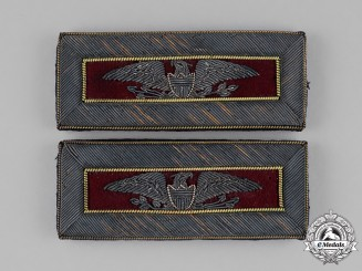 United States. A Fine Pair of Indian Wars Period Shoulder Boards