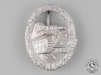 Germany, Federal Republic. A Tank Badge, Silver Grade, Alternative 1957 Version