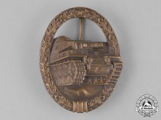 Germany, Federal Republic. A Tank Badge, Bronze Grade, Alternative 1957 Version