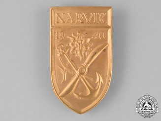 Germany, Federal Republic. A Narvik Shield, Alternative 1957 Version