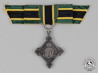 Saxony-Weimar. An Honour Cross for Meritious Services, c.1870