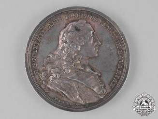 Bavaria, Kingdom. A 1763 Merit Table Medal from the Boica Academy of Science