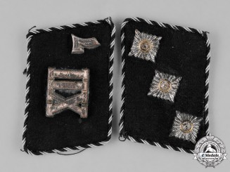 Germany. A Set of General-SS Untersturmführer Collar Tabs