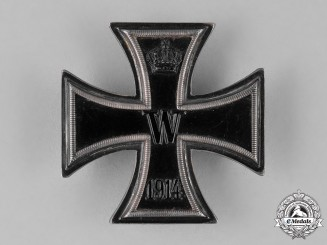 Prussia, State. A Silver Iron Cross 1914 First Class
