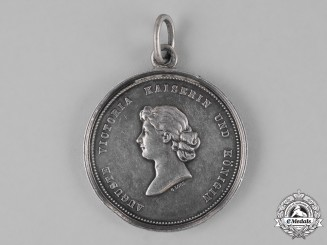 Schleswig-Holstein. A 1917 Medal for 25 Years of Loyal Service as a Deaconess