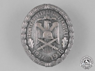 Germany. A 1914-1918 Front-Figther of the World War Decoration