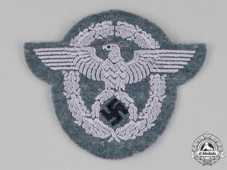 Germany. An Unissued Police Sleeve Insignia