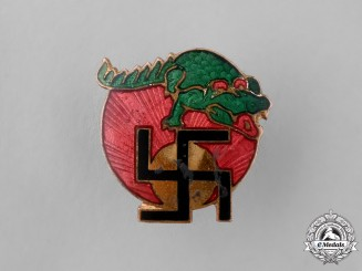 Germany. An Unique NSDAP Supporter's Pin