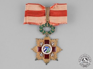 Cuba, Republic. An Order of the Red Cross, 3rd Class, Commander, Type I