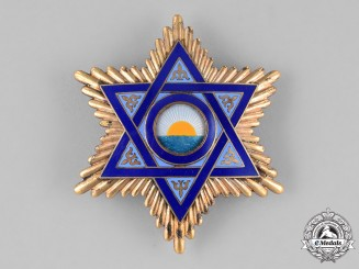 Spain, Morocco. An Order of Mehdauia, Grand Cross Breast Star