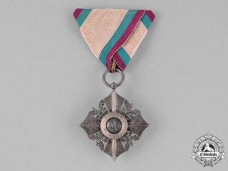 Bulgaria, Kingdom. An Order of Civil Merit, 6th Class Silver Merit Cross, Type II (1908-1944)