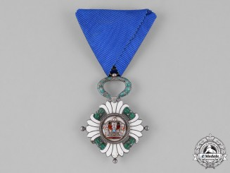 Yugoslavia, Kingdom. An Order of the Yugoslav Crown, 5th Class, Knight