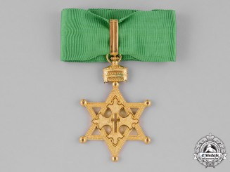 Ethiopia, Empire. An Order of the Seal of Solomon, Commander, c.1935