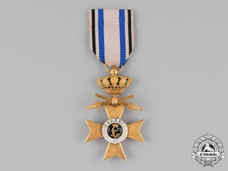 Bavaria, Kingdom. An Order of Military Merit, War Merit Cross First Class, with Swords and Crown, c. 1918