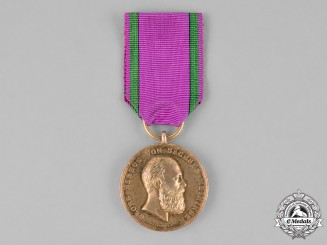 Saxony, Kingdom. A Golden War Merit Medal