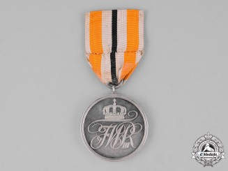 Prussia, State. A Military Honour Medal, Second Class