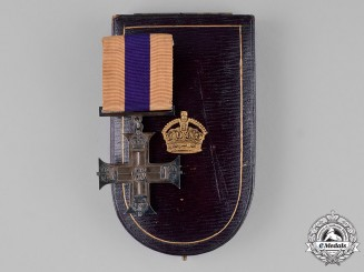 United Kingdom. A First War Military Cross, Cased, to Lieutenant Victor Carrington Lucas, Royal Field Artillery, KIA during the Battle of Messines