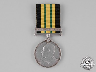 United Kingdom. An Africa General Service Medal 1902-1956, to Able Seaman J. Nolan, H.M.S. Perseus