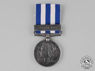 United Kingdom. An Egypt Medal 1882-1889, to Gunner T.C. Chandler, Royal Marines