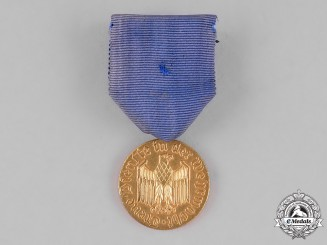 Germany, Federal Republic. A Wehrmacht 12-Year Long Service Medal; Alternative 1957 Version