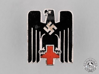 Germany. A German Red Cross Miniature Membership Badge
