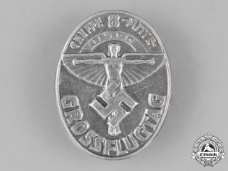 "Germany. A National Socialist Flyers Corps ""Great Day of Flight"" Badge"