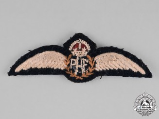 "Canada. A Royal Canadian Air Force (RCAF) Pilot Wing with ""C"" Added"