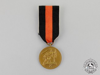 Germany, Third Reich. An Entry into the Sudetenland Commemorative Medal