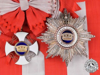 Italy, Kingdom. An Order of the Crown of Italy, Grand Cross, by E. GARDINO, c.1925