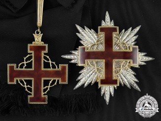 Vatican. An Equestrian Order of the Holy Sepulchre of Jerusalem Cross of Merit, Grand Cross, c.1965