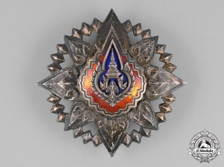 Thailand, Kingdom. A Most Noble Order of the Crown, I Class Star, c.1945