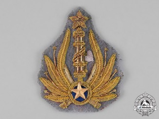 Italy. A Fascist Blackshirts Military Cap Badge