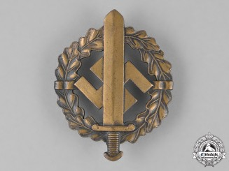 Germany. An SA Sports Badge, Bronze Grade, by R. Sieper & Sohn