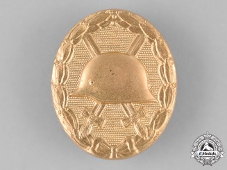Germany. A Wound Badge, Gold Grade, Alternative 1957 Version