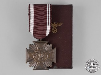 Germany. A Mint NSDAP Long Service Award, for 10 Years of Service