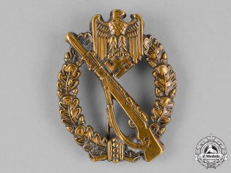 Germany. An Early Silver Grade Infantry Assault Badge
