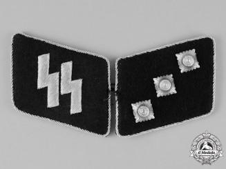 Germany. A Set of Waffen-SS Untersturmführer Collar Tabs, Un-issued