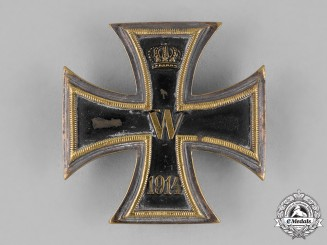 Prussia, State. An Iron Cross 1914 First Class; Private Purchase Brass Version