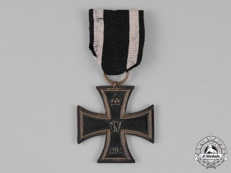 Prussia, State. An Iron Cross 1914 Second Class; Private Purchase Brass Version