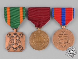United States. Three Navy Medals