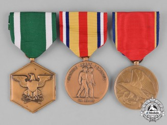 United States. Three Navy and Marine Corps Medals