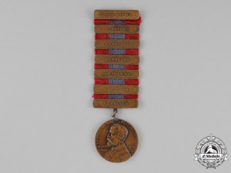 United States. A West Indies Naval Campaign Medal  to P. O'Grady, United States Navy, USS Iowa