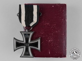 Prussia, State. A Cased Iron Cross 1914 Second Class, by Walter Schott
