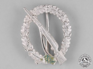 Germany, Federal Republic. A Infantry Assault Badge, Silver Grade